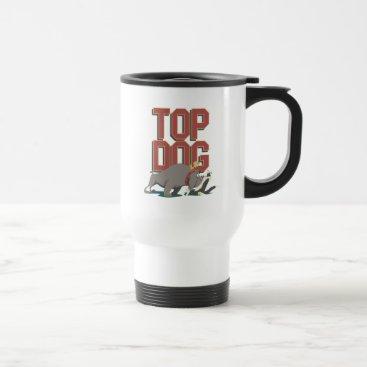 """Top Dog"" Spike Guarding TWEETY™ From SYLVESTER™ Travel Mug"