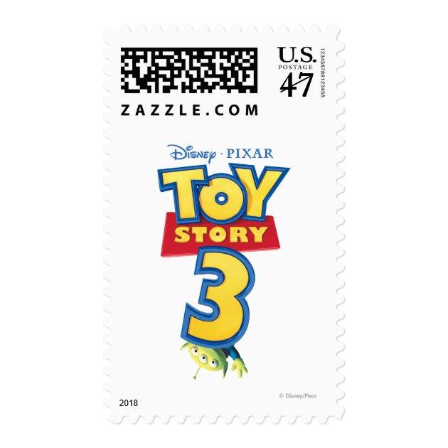 Toy Story 3 - Logo Stamp | Zazzle