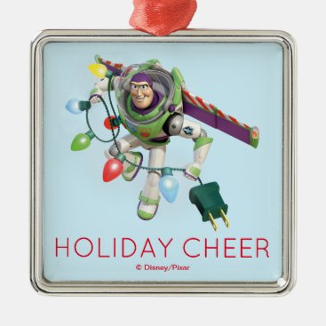 Toy Story | Buzz Lightyear Decorating Christmas Metal Ornament