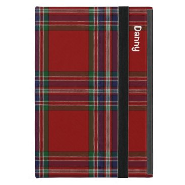 Traditional MacFarlane Tartan Plaid iPad Mini Case
