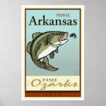 Travel Arkansas Poster