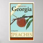 Travel Georgia Poster