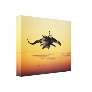 Treasure Hunting Gallery Wrap Canvas