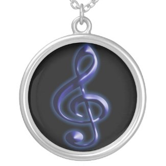 Treble Clef - Necklace necklace