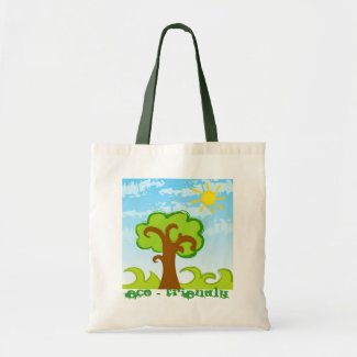 Tree and Sun Bag