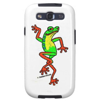 Tree Frog Happy Dance Phone Case Galaxy S3 Cases