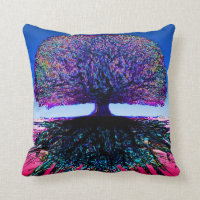 Tree of Life Creative Throw Pillow