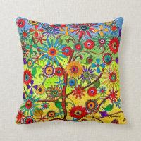 Tree of Life-pillow Throw Pillow