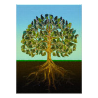 Tree of Life Simple Pleasures of Life Poster