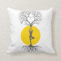 Tree of Life Yoga pillow