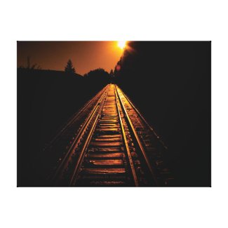 """Trestle Dawn"" Wrapped Canvas Print"