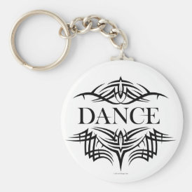 Tribal Dance (plain) Keychain