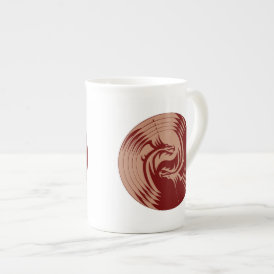 Tribal Dragons Yin Yang (Personalize It!)l Tea Cup