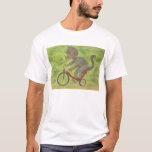Triceratops on a Tricycle T-shirt! T-Shirt