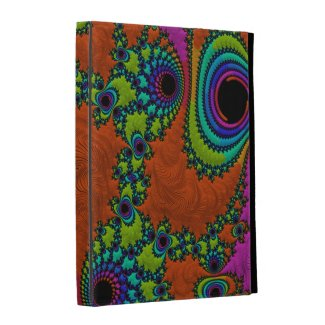 Trippy Fractal Art ipad 2/3/4 Caseable Folio