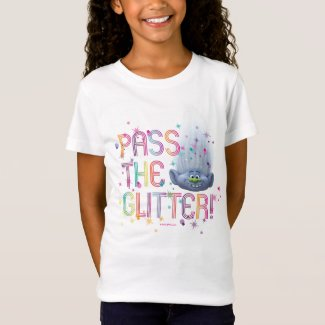 Trolls | Guy Diamond - Pass the Glitter T-Shirt