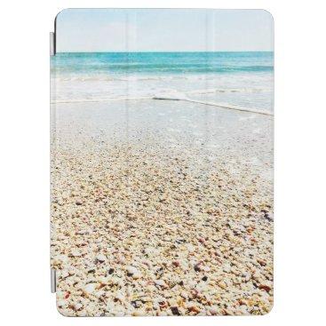 Tropical Beach Sand Ocean Waves Sea Shells Florida iPad Air Cover