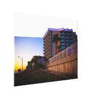 Tropical Coastal Landscape and Architecture Canvas Prints