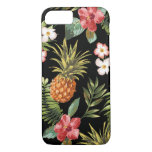 ❤️ Tropical Pineapple Hibiscus Flowers iphone Cover