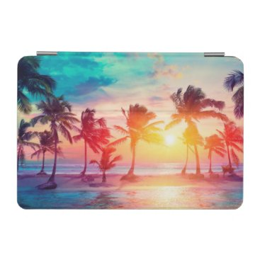 Tropical Summer Sunset iPad Mini Cover