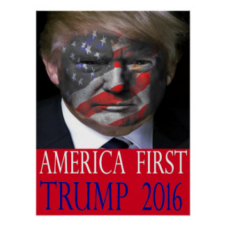 Image result for caricature trump america first