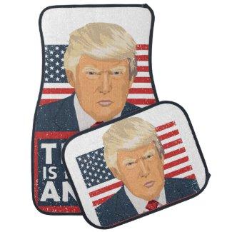 Trump is My Spirit Animal Funny Car Floor Mat