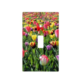 Tulips Light Switch Cover