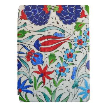 Turkish floral design iPad pro cover