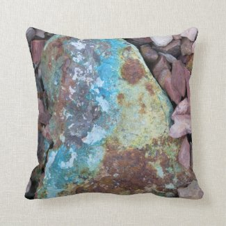 Turquoise Treasure Pillow
