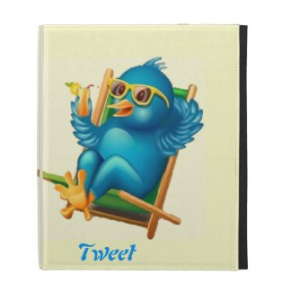 Tweet Tweet ipad Folio iPad Folio Cover