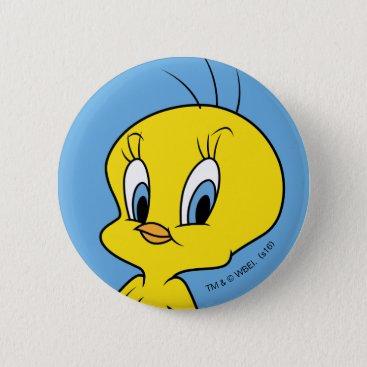 TWEETY™ | Clever Bird Pinback Button