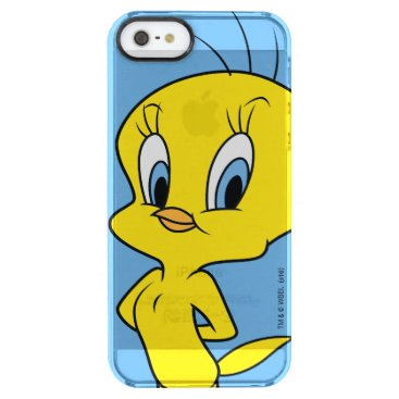TWEETY™ | Clever Bird Clear iPhone SE/5/5s Case