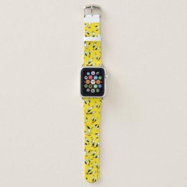 TWEETY™ Face Pattern Apple Watch Band