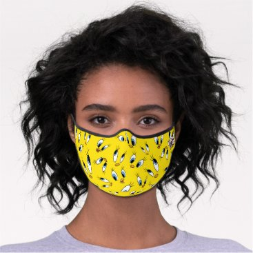 TWEETY™ Face Pattern Premium Face Mask
