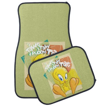 "TWEETY™ ""I Tawt I Taw A Puddy Tat"" Car Floor Mat"