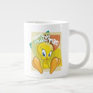 "TWEETY™ ""I Tawt I Taw A Puddy Tat"" Giant Coffee Mug"