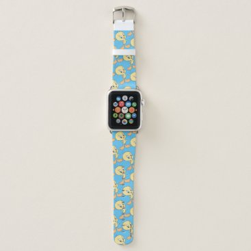 Tweety In The Clouds Pose 21 Apple Watch Band