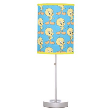 Tweety In The Clouds Pose 21 Table Lamp