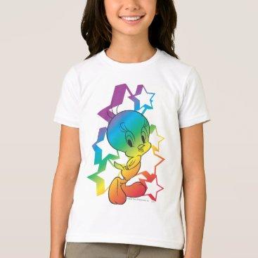 Tweety Rainbow Stars T-Shirt