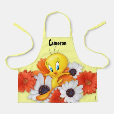 Tweety With Daisies Apron