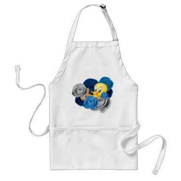 Tweety With Roses Adult Apron