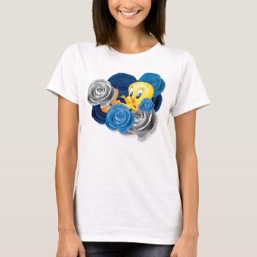 Tweety With Roses T-Shirt