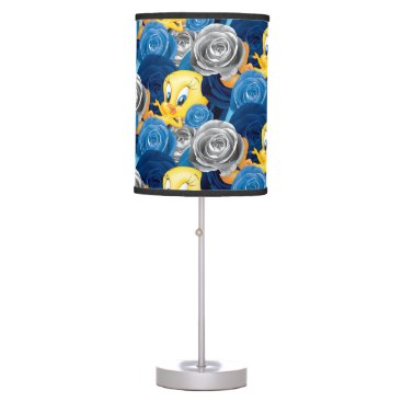 Tweety With Roses Table Lamp