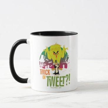 """Twick or Tweet"" TWEETY™ & SYLVESTER™ Mug"