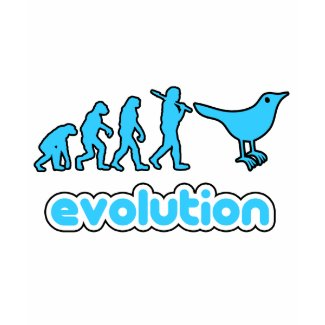 Twitter evolution shirt