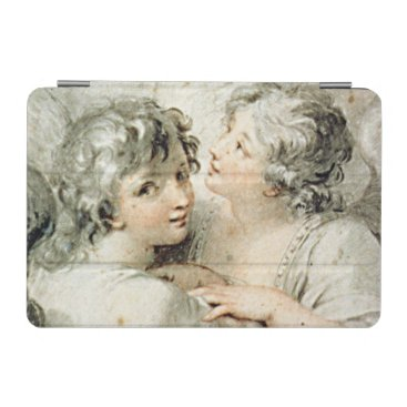 Two angels, 18th century iPad mini cover
