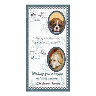 Dog Christmas Cards Greeting Amp Photo Cards Zazzle