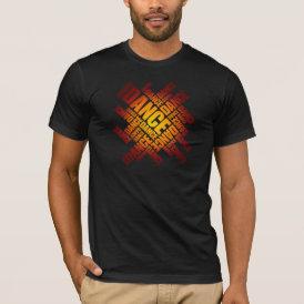 Typographic Dance (Fire) T-Shirt