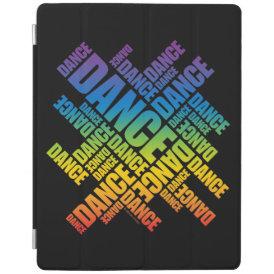 Typographic Dance iPad Smart Cover
