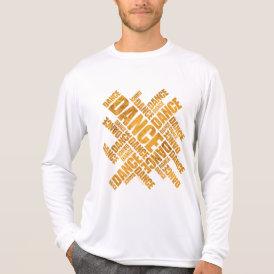 Typographic Dance (Rust) T-Shirt